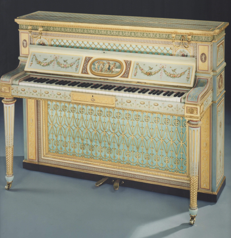Wright & Mansfield 1862 Piano