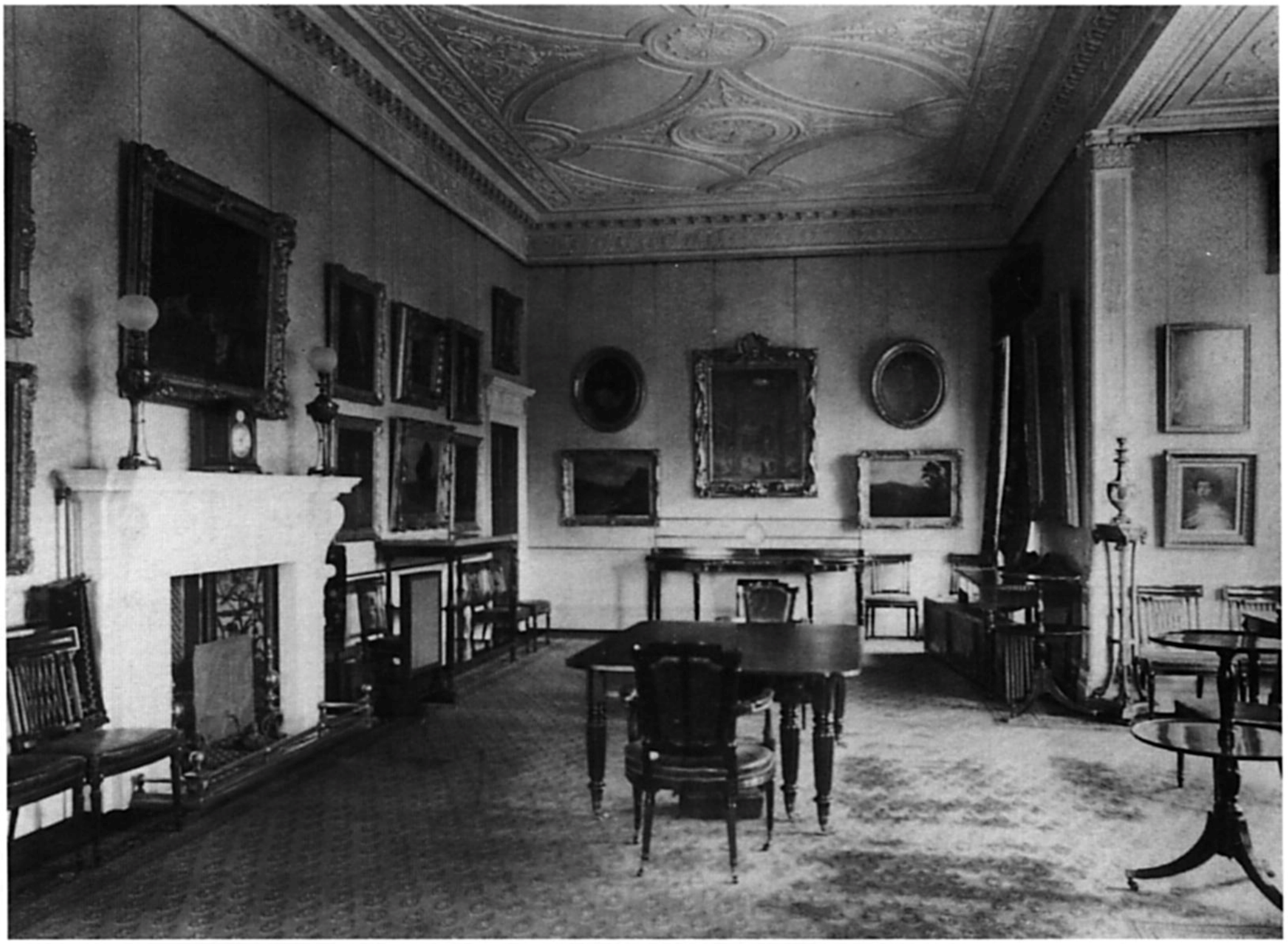 Haddo House Dining Room Wright and Mansfield