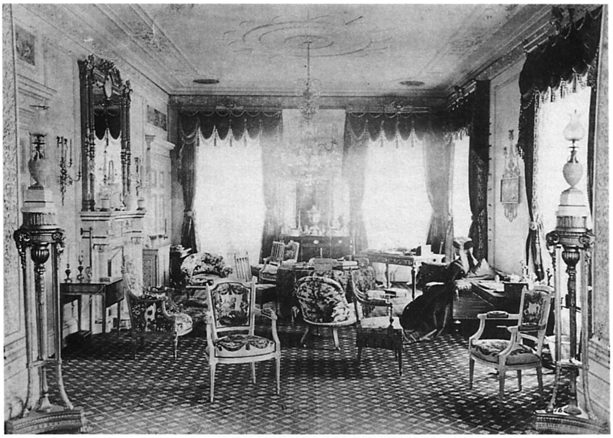 Guisachan Drawing Room. Wright and Mansfield' earliest commission.